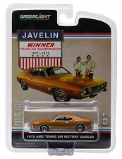 NEW! 1:64 Greenlight *HOBBY EXCLUSIVE* 1973 Trans Am Victory AMC JAVELIN *NIP*