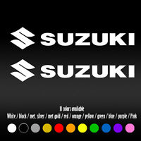 """6"""" Suzuki Motorcycle Bike Tank Self Adhesive Diecut Vinyl Decal sticker"""