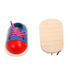 Toy Learn How To Tie Shoelaces Shoes Lacing Hand Coordination Development