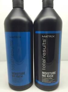 Matrix Total Results Moisture Me Rich Shampoo & Conditioner 1 Litre + 2 Pumps