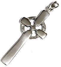 Peter Stone 925 Silber keltischer Kreuz  Anhänger Keltenkreuz HOCHKREUZ Kelten