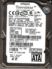 Hts541040g9sa00 P/N: 0a27472 MLC : da1340 SW: c60g Hitachi 40gb 6.3cm SATA
