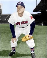 Roger Maris #2 Photo 8X10 Indians Rookie 1957 COLORIZED