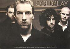 COLDPLAY AUFKLEBER / STICKER # 1 - PVC