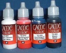 Vallejo Juego Color Paint-Guerras Napoleónicas Set #1 - 4 X 17ml botellas. DF51
