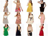 Wholesale Lot 40 pcs Womens Mixed Dresses Tops Junior Apparel Clubwear M MEDIUM