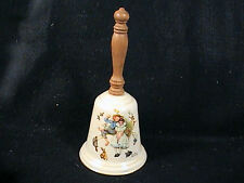 1a Vintage Gorham Norman Rockwell Fine China Bell, Loves Harmony 1975