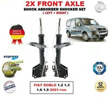 FOR FIAT DOBLO 1.2 1.3 1.6 1.9 2001->on 2X FRONT LEFT RIGHT SHOCK ABSORBERS SET