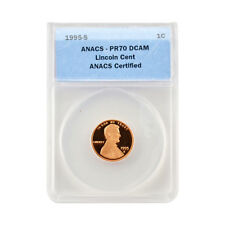 1995 Memorial Cent - San Francisco Mint Proof - Certified ANACS PR70