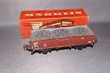 Marklin HO 4604 OPEN WAGON WITH LOAD - In Original Box