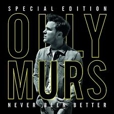 OLLY MURS - NEVER BEEN BETTER: SPECIAL EDITION - NEW CD / DVD