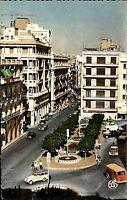 Oran Algerien Afrika Postkarte ~1960/70 La Place Victoires Straßenpartie Auto