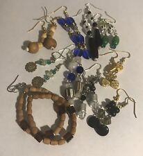 Earrings (Value Pack #043) 10 Random Beaded Women's Fashion