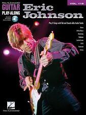 ERIC JOHNSON GUITAR PLAY-ALONG - INSTRUMENTAL PLAY-ALONG BOOK/AUDIO 701353