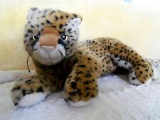 """Ty 14"""" plush stuffed Cheetah Leopard Cat"""