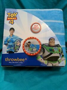 Disney Pixar Toy Story 4 Buzzlightyear Throwbee Plush NEW In Package Free Ship