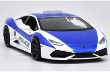 MAISTO 1:24 W/B AUTHORITY LAMBORGHINI HURACAN LP 610-4 POLICE DIECAST CAR 32513