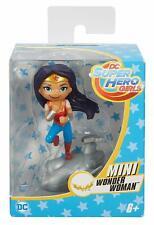 "Set of 6 DC Super Hero Girls 3"" Mini Vinyl Figures Harley Supergirl"