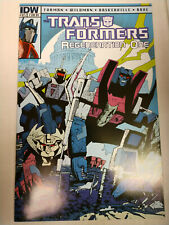 TRANSFORMERS REGENERATION ONE #83 IDW 2012 1:10 SENIOR VARIANT COVER