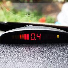 UK Car 4 Parking Sensor Reverse Audio Backup Radar Alarm System Kit Sound Remind