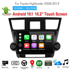 Stereo Radio Navigation for Toyota Highlander Android 10.1 Player 10.2' Ma2390