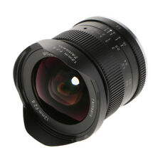 Objectif ultra grand angle F2.8 de 12mm pour Sony E-Mount NEX 7 5 3 A6000