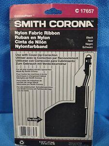 Smith Corona 17657 Black Type II-A Nylon Fabric Ribbon Sealed NOS Typewriter