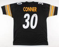 James Conner Signed Steelers Black Home Jersey (Beckett COA) Pittsburgh #1 R.B.