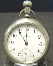 1913 American Waltham PS Bartlett OF 18S 17J  Pocket Watch Serial# 19076078
