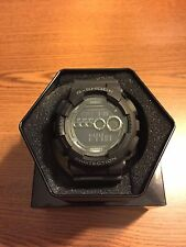 NEW CASIO G-SHOCK GD100-1B BLACK RESIN DIGITAL MILITARY MENS WATCH NWT!!!