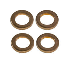 "OEM NEW 1980-2019 Ford Taurus Super Duty Brake Line 3/8"" Copper Washer Gasket 4x"