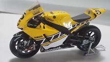 Colin Edwards. Yamaha YZR-M1. MotoGP Laguna Seca 2005. Minichamps 1/12.