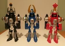 Power Rangers Transformers figures red blue black collectable