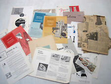 Vintage Lot Seamstress Instruction Booklets Texas A & M 1960's for Collector