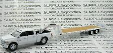 Greenlight 1:64 2018 DODGE RAM 2500 BIG HORN HARVEST Pickup w/Gooseneck Trailer