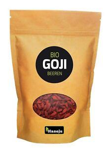 Bio Goji Beeren 1000 g Trockenfrüchte Trockenobst Laktosefrei (16,63€/100g)