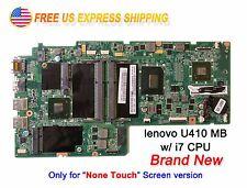 Lenovo U410 Laptop Intel i7-3517U 1.9Ghz CPU 90002374 DA0LZ8MB8E0 Motherboard
