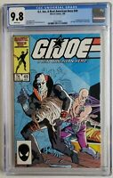 🔥 GI JOE #49 CGC 9.8 1ST APP SERPENTOR REAL AMERICAN HERO 1986✅ VERIFIED