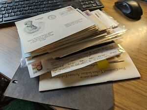 WOW! Huge lot of 100 NATIVE AMERICAN INDIAN Postal History Covers 1933+ AWESOME!