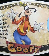 Goofy FREE SHIPPING! Million-dollar novelty bill