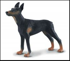 Doberman Pinscher Figurine Black Brown Tan Pet Collecta Toy Animal Adult New
