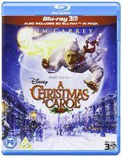 A Christmas Carol (Blu-ray 3D) [Region Free] [DVD][Region 2]
