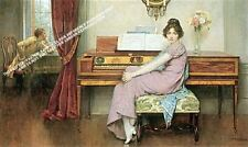 The Reluctant Pianist by William A. Breakspeare Artwork by Selby Prints