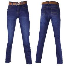 Damen Jeans Hose Winterhose Thermohose Winterjeans Fleece Gefüttert W28-W33 M22