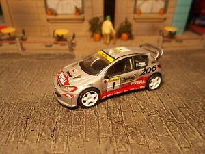 CM's Peugeot 206 WRC 2001 Monte Carlo 1/64