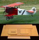 """75""""Ws FOKKER D7 R/c Plane short kit-partial kit & plans, PLEASE READ"""