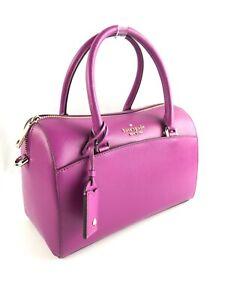 Kate Spade Devyn Medium Saffiano Leather Crossbody Duffel Bag Handbag