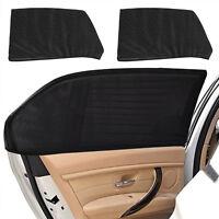 2x Car Rear Side Window Socks Sun Shade Mesh SUV UV Protection Nylon Mesh Pro.w/