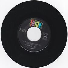CROSSOVER SOUL 45RPM - GEORGE JACKSON ON FAME - RARE!