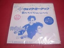 Wham! Wake Me Up Before You Go Go EP Vinyl Record Test Press Promo Rare